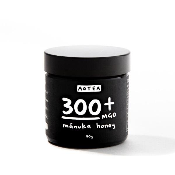 Aotea マヌカハニー 300+ MGO (80g)  ニュージーランドの離島【非加熱処理の希少な生マヌカハニー】