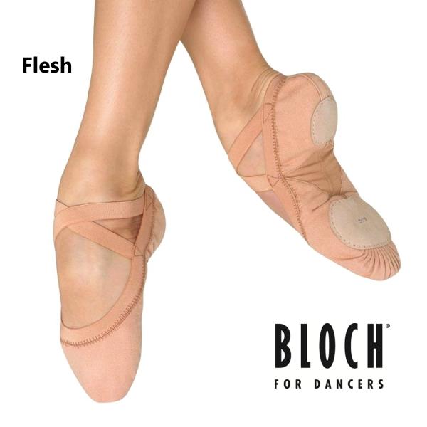 【BLOCH】ブロック バレエシューズ(Pro Erastic)→(カラー:Flesh) フレッシュベージュ