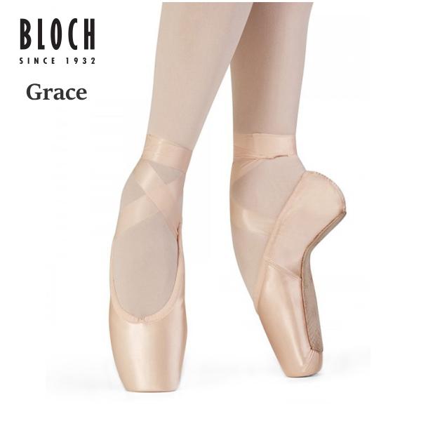 ☆再入荷なし!在庫限りセール<br>【20%OFF!!】<br>トウシューズ【ブロック】グレース トゥシューズ Bloch Grace Pointe Shoe 最新のポアントシューズ
