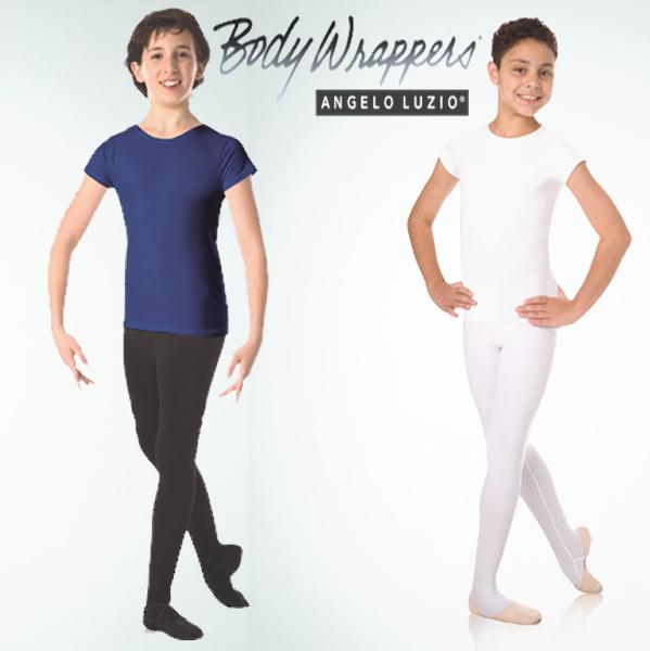 【Body Wrappers】男の子レッスン用Tシャツ ボディラッパーズ 男性 ボーイズ