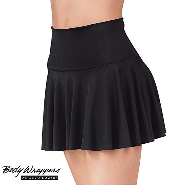 バレエ ダンス チア スカート 【ボディーラッパーズ】ウエスト幅広 透けない!Bodywrappers