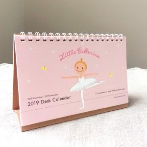 【卓上】2019年★リトルバレリーナ★ デスク バレエ カレンダー