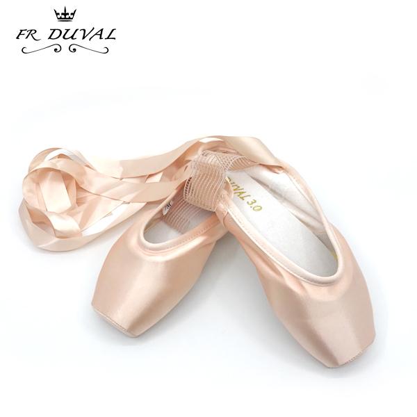 【F.R Duval 】3.0&4.0 トウシューズ:最先端技術で作られた ポワント バレエ 最高水準トゥシューズ