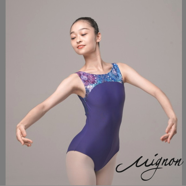 【Mignon】ジュエル レオタード  バレエ 大人<数量限定/ハイクラスコレクション>