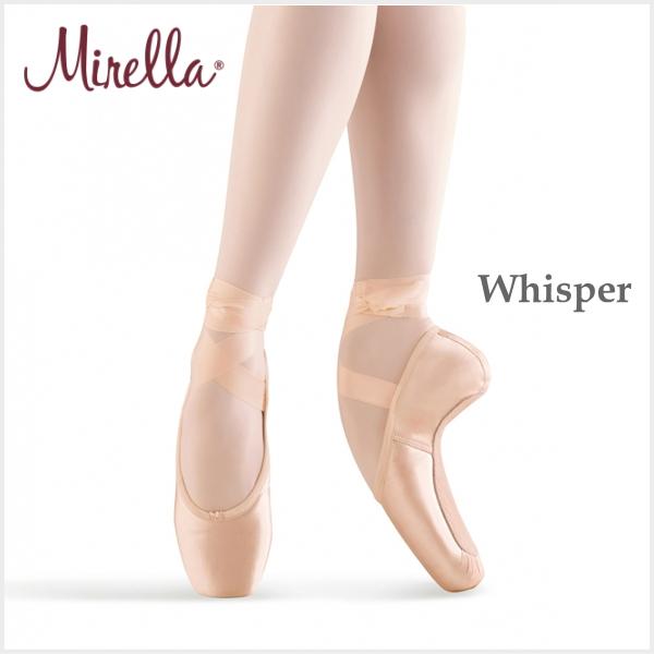 【ミレラ】トウシューズ ウィスパー/Whisper 本当に静かでドゥミが通り痛みもなくトゥシューズ