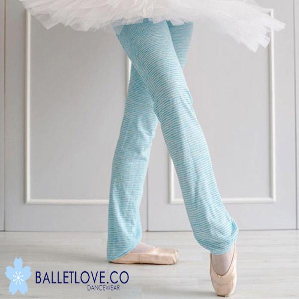 バレエ レッグウォーマー Balletlove ロング丈 (Poolside)カットソー素材のレッグウォーマー バレエラブ