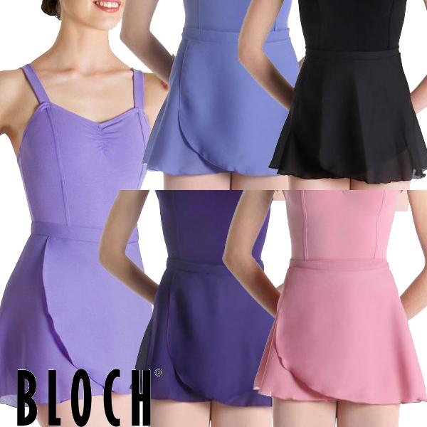 【BLOCH】ブロック:色展開豊富!大人用 バレエ 巻きスカート40cm丈 GEENA