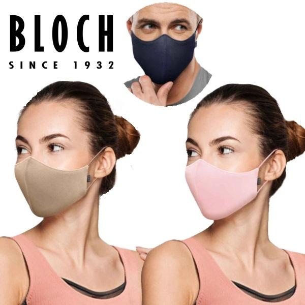 【 BLOCH / ブロック 】抗菌 マスク 3個入り ジュニア~大人 有名人も愛用♪ 【ネコポス送料無料!】