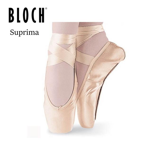 【 BLOCH / ブロック 】シュープリマ トウシューズ 安定感のある レガートの形に似たポアント