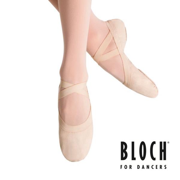 【バレエシューズ】ブロック:Pro Erastic★足先が美しく甲もよく出るバレエシューズ(ピンク)【BLOCH】