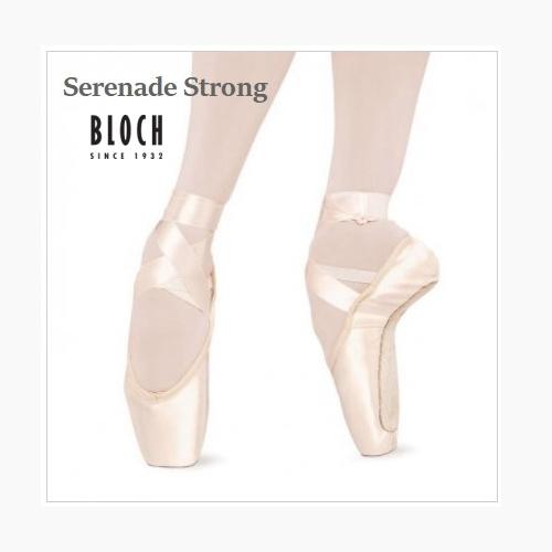 ☆サンプルセール☆ 細幅B 【BLOCH】トウシューズ:セレナーデストロング【SERENADE Strong】