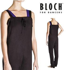 【BLOCH】大人バレエ用品 ブロック:≪CROISE≫ウォームアップオーバーオール☆つなぎタイプ(ブラック)