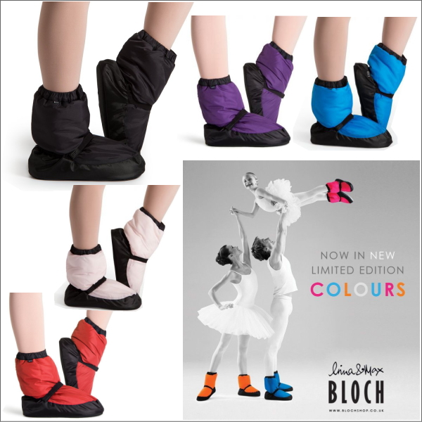 【BLOCH】あったかウォームアップブーツ★男女兼用ブロックのバレエ楽屋用ブーツ(4色展開)【送料無料】