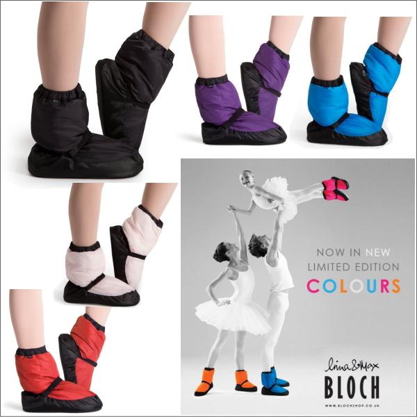 ☆夏のブランドセール第1弾☆【BLOCH】あったかウォームアップブーツ★男女兼用ブロックのバレエ楽屋用ブーツ(4色展開)