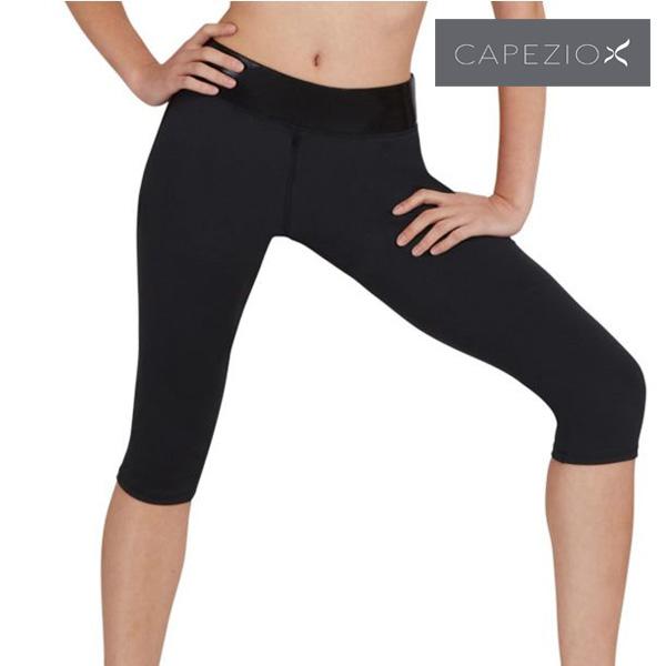 バレエ カプリ丈 パンツ カペジオ 大人 Capri Workout Pants