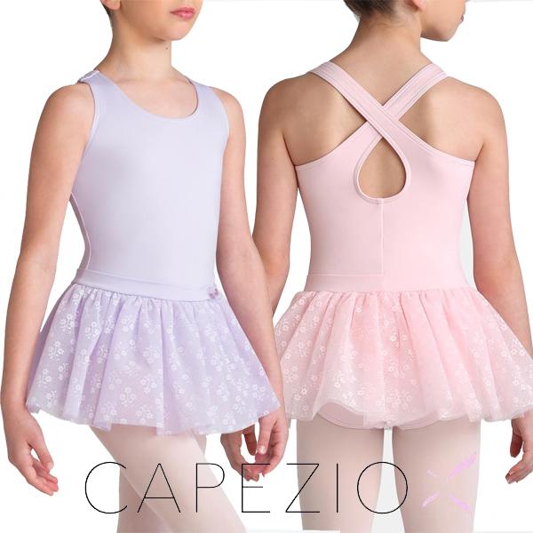【カペジオ】【数量限定】美女と野獣のベルからインスパイヤされたタンク型スカート付レオタード