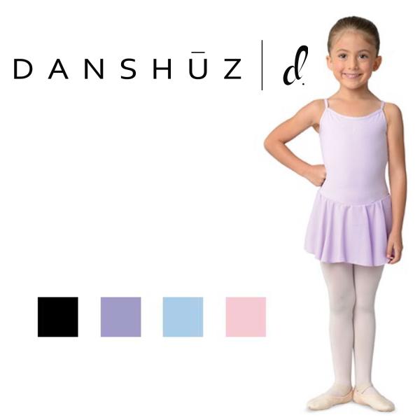 【DANZNMOTION】子供 キャミソールレオタード アメリカ直輸入!(キッズ ジュニア 女の子のレッスン着)