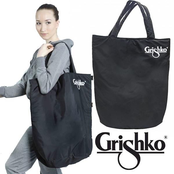 バレエ レッスンバッグ 【グリシコ】Grishko ブラック 大きなトートバッグ 衣装入ります