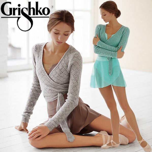 【 Grishko 】 グリシコ ニット バレエ grishko オープン ワーク ボレロ