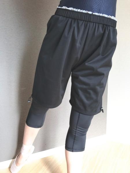ハーフ丈サウナパンツ 日本製ミニヨンオリジナル ひざ丈