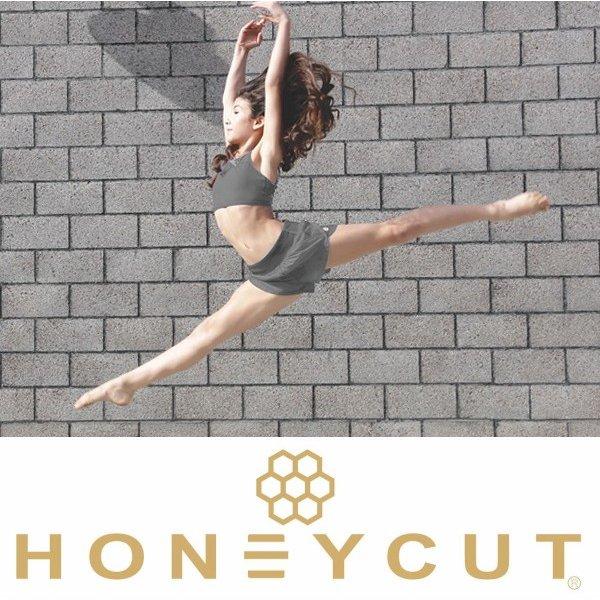 【HONEYCUT】  INDI SHORT スコート付きショートパンツ バレエ/ダンス