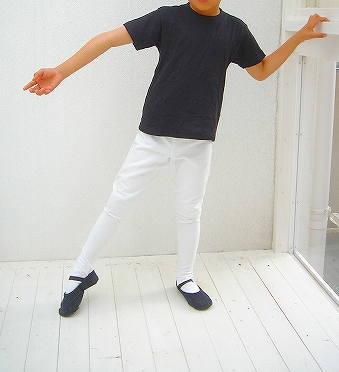 【 Sansha / サンシャ 】バレエ用品  男の子~メンズ用バレエタイツ (発表会にレッスンに!)☆ホワイト☆ 100cm~180cm対応