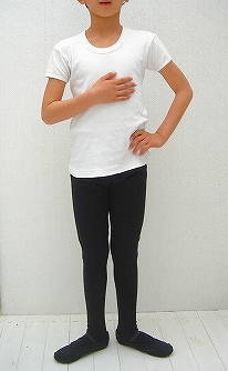 ●ブラック● バレエ用品 【サンシャ】 男の子&メンズ用バレエタイツ(発表会に!レッスンに!)☆ブラック 110~180cm対応