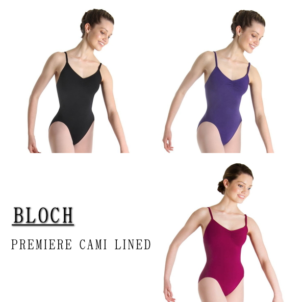 【BLOCH】大人 バレエ レオタード♪ ブロック:PREMIEREキャミソールレオタード(3色展開)