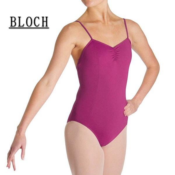 【BLOCH】大人バレエ レオタード♪ ブロック:≪CELESTE≫細い肩紐でほっそり見える!キャミソールバレエレオタード☆2色展開