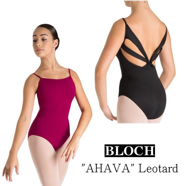 【BLOCH】大人♪バレエ レオタード ブロック:≪AHAVA≫背中の4本ラインが個性的!キャミソールレオタード★