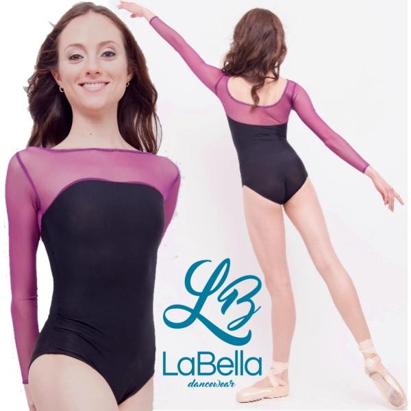 【LaBella dancewear】Katie 大人長袖レオタード ラベラ 日本初上陸!アメリカのブランドレオタード