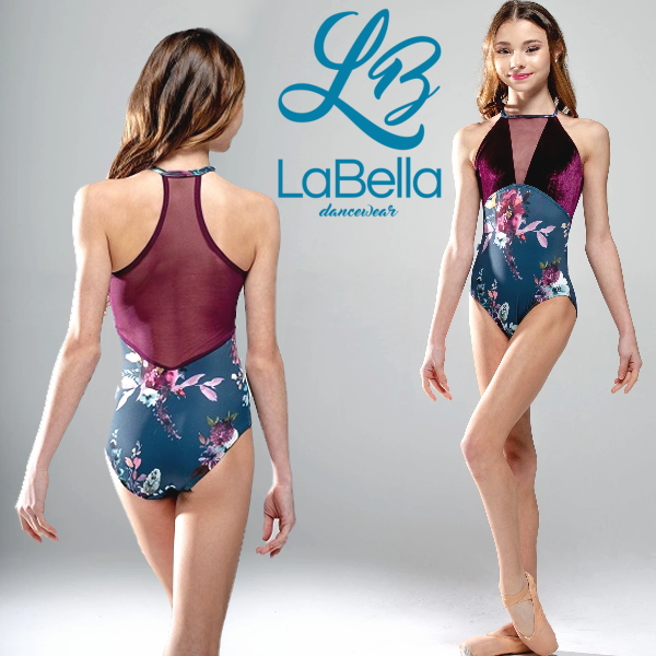 【LaBella dancewear】Wren ホルターネックレオタード ラベラ 日本初上陸!アメリカのブランドレオタード