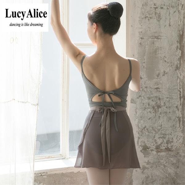 【LucyAlice】Amanda 大人キャミソールレオタード ルーシーアリス 日本初上陸!韓国のブランドレオタード