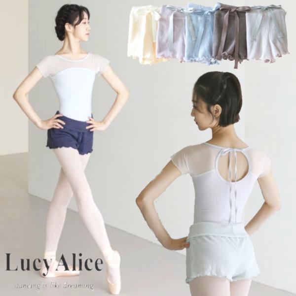 【 LucyAlice / ルーシーアリス】<br> ショートパンツ リボンが可愛い!パステルカラー 7色