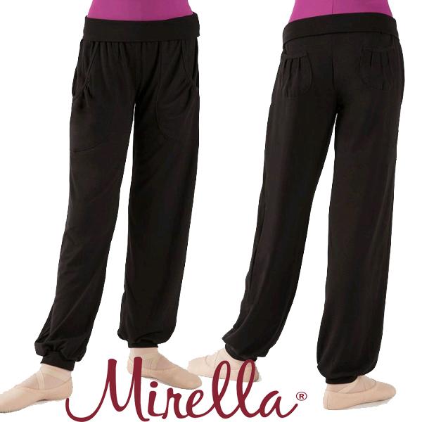 【MIRELLA】楽屋着やウォームアップ用として☆ミレラ☆子供用ストレッチパンツ