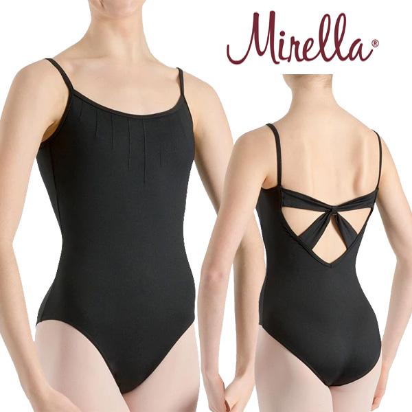 【キャンペーン対象レオタード】 mirella-lm52050【ミレラ】大人 バレエ レオタード 背中が素敵 MIRELLA