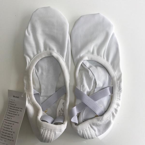 サンプルセール!【サンシャ】メッシュ素材のバレエシューズ ホワイト(9M)