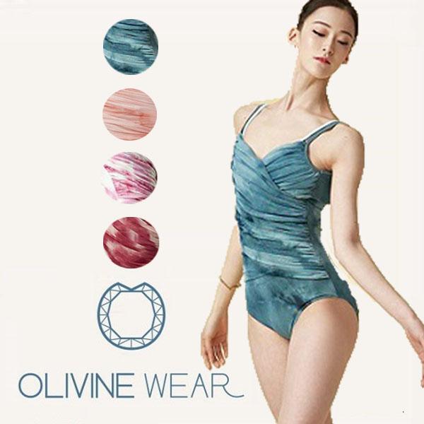 【 OLIVINE WEAR 】 大人 キャミソールレオタード グラデーションが美しい! DIARUSH オリビン オリヴィン バレエ