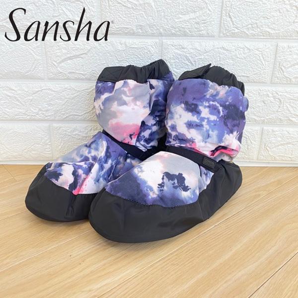 【 sansha / サンシャ 】 あったかウォームアップブーツ バレエ楽屋用ブーツブーティー