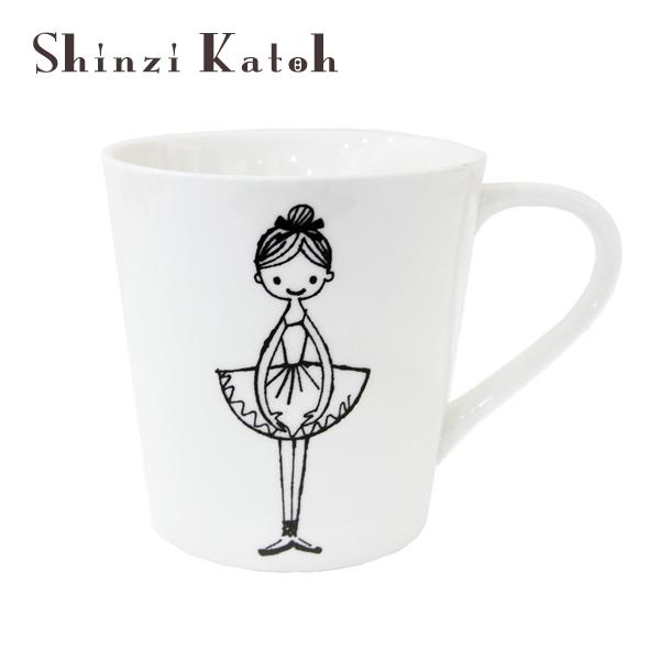 バレエ マグカップ shinzikatoh (グリーティング) シンジカトウ バレエ 雑貨 プレゼント