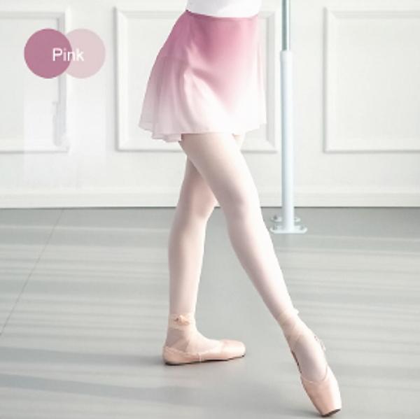 巻きスカート グラデーション ピンク 美しい くすみピンク バレエスカート